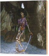Dead Men Tell No Tells Wood Print by David Lee Thompson