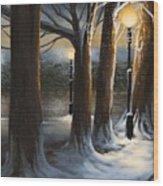 Dead Of Night Wood Print