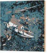 Dead Salmon 3 Wood Print