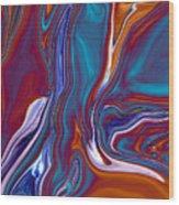 Dead Tree Abstract2 Wood Print