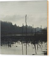 Dead Tree Waters Wood Print