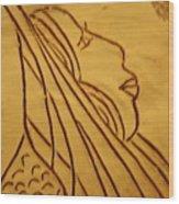Dear - Tile Wood Print