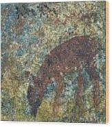 Dear Or Deer Being Hunted Wood Print
