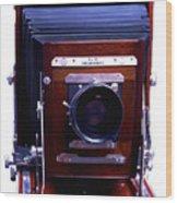 Deardorff 8x10 View Camera Wood Print by Joseph Mosley