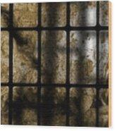 Death As Shadow Wood Print