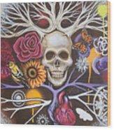 Death Becomes Me Wood Print