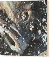 Death Of A Wild Tarpon Wood Print
