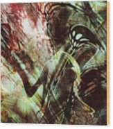 Death-stalker Wood Print