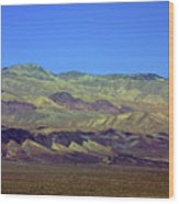 Death Valley - Land Of Extremes Wood Print