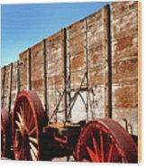 Death Valley Borax Wagons Wood Print