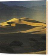 Death Valley California Symphony Of Light 4 Wood Print