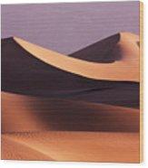 Death Valley Dunes Wood Print by Matt  Trimble