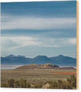 Death Valley Pano Wood Print