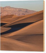 Death Valley Sand Dunes Wood Print