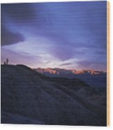 Death Valley Sunrise Wood Print