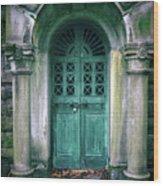 Death's Door Wood Print