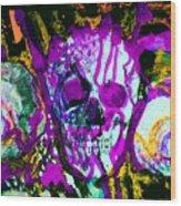 Deathstudy-1 Wood Print