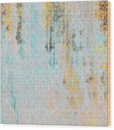 Decadent Urban Light Colored Patterned Abstract Design Wood Print