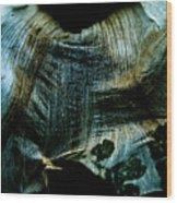Decaying Flower Wood Print