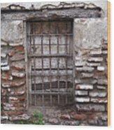 Decaying Wall And Window Antigua Guatemala 2 Wood Print