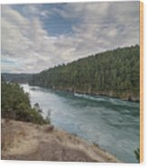 Deception Pass State Park Wood Print