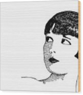 Deco Women Wood Print