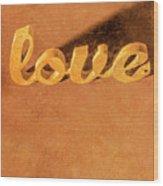 Decorating Love Wood Print