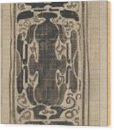 Decorative Design, Carel Adolph Lion Cachet, 1874 - 1945 Wood Print