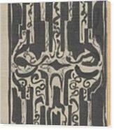 Decorative Design, Carel Adolph Lion Cachet, 1874 - 1945 H Wood Print