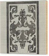 Decorative Design, Carel Adolph Lion Cachet, 1874 - 1945 Jd Wood Print