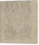 Decorative Design, Carel Adolph Lion Cachet, 1874 - 1945 U Wood Print