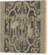 Decorative Design, Carel Adolph Lion Cachet, 1874 - 1945 Vq Wood Print