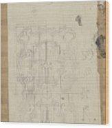 Decorative Design, Carel Adolph Lion Cachet, 1874 - 1945 W Wood Print