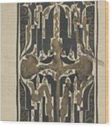 Decorative Design, Carel Adolph Lion Cachet, 1874 - 1945 Y Wood Print
