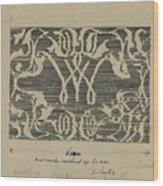 Decorative Design In National Colors, Carel Adolph Lion Cachet, 1874 - 1945 Wood Print