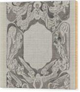 Decorative Design With Angels, Carel Adolph Lion Cachet, 1874 - 1945 Wood Print