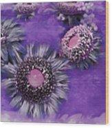Decorative Sunflowers A872016 Wood Print