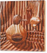 Decoy Still Life Wood Print