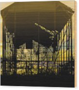 Decrepid Barn Wood Print