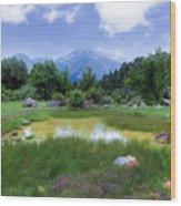 Dedegol Mountain - Turkey Wood Print