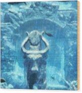 Deep Atlantis Wood Print
