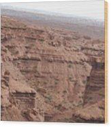 Deep Canyon In Utah Wood Print