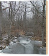 Deep Creek - Green Lane - Pa Wood Print