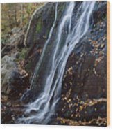 Deep Hallow Falls Virginia Wood Print