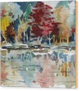 Deep Into Autumn Wood Print