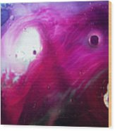 Deep Purple Wood Print