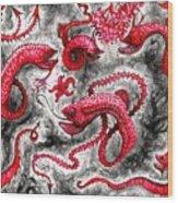 Deep Sea Devils  Wood Print
