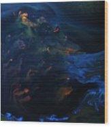 Deep Sea Secret Of The Mystery  Wood Print