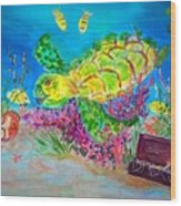 Deep Sea Treasures Wood Print