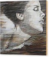 Deep Swim Wood Print